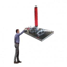 manipulador de vacío para paneles sin grúa