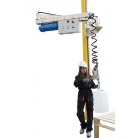Manipulador de cuerda bidones