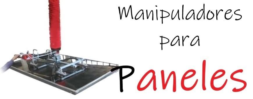 Manipuladores de vacío para paneles