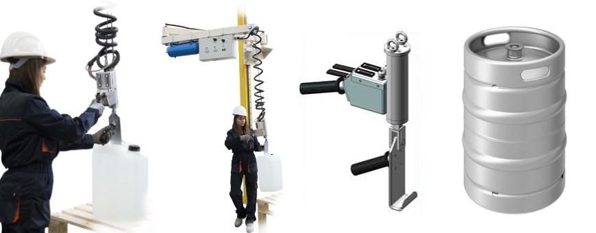 Todas las mellores maquinas para manipular bidones y barriles