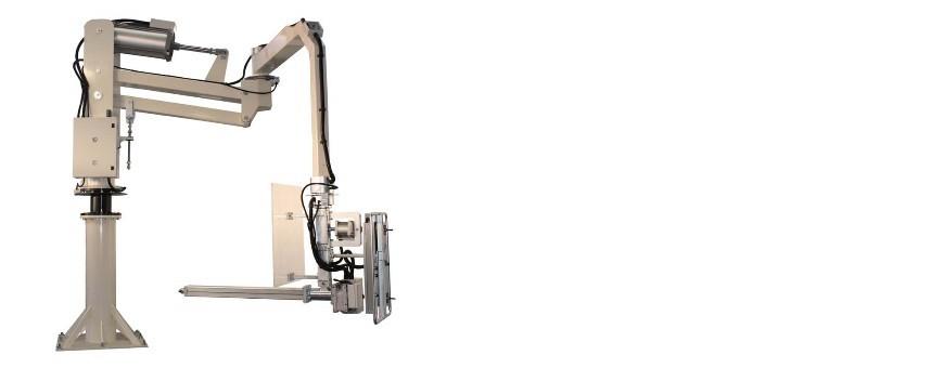 Manipuladores neumáticos con herramienta de agarre especial